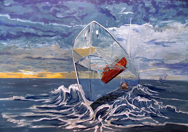 Deeper ...into the sea - Lazaro Hurtado Art