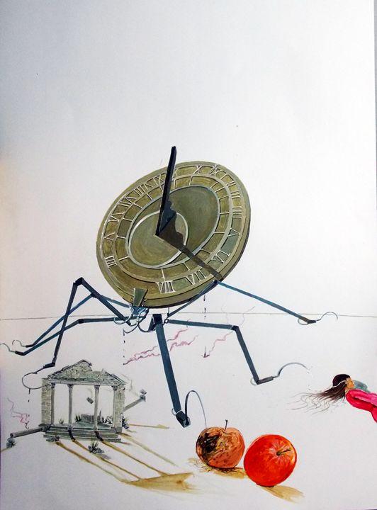 The sting of time - Lazaro Hurtado Art