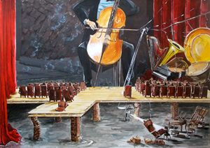 The last concert - Lázaro Hurtado Art