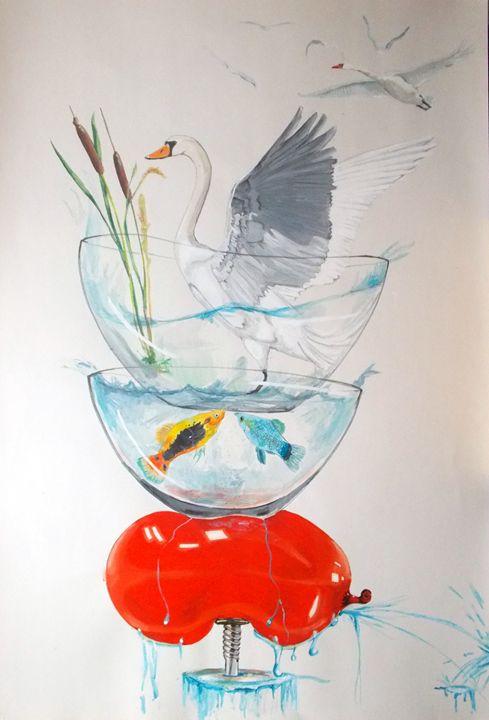 Equilibrium - Lazaro Hurtado Art