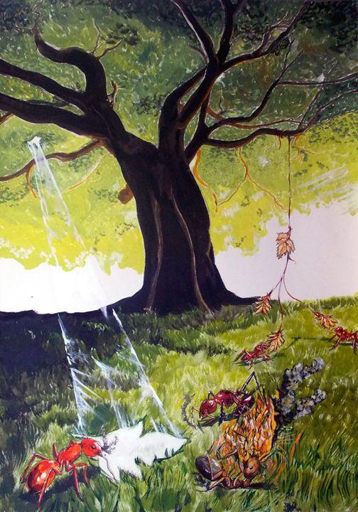 Mirages of lives . Nature - Lazaro Hurtado Art