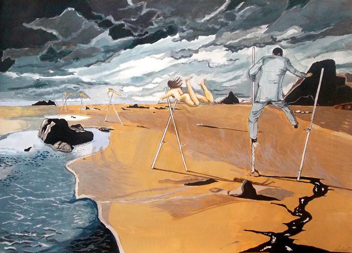 Faraway - Lazaro Hurtado Art