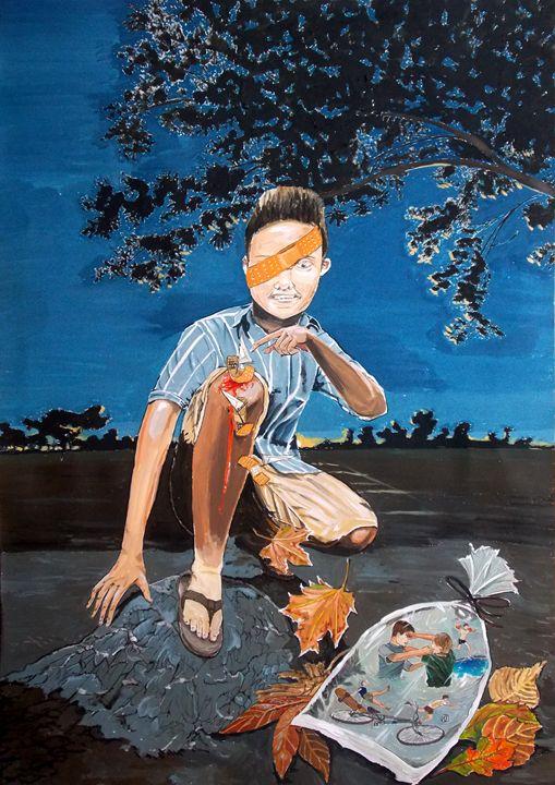 Healing Record - Lazaro Hurtado Art