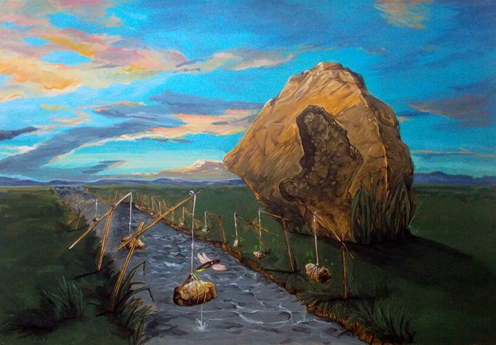 Mother of Anguishes - Lazaro Hurtado Art