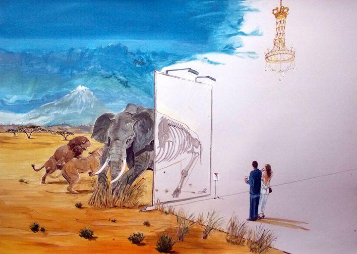 The subsistence and the... - Lazaro Hurtado Art
