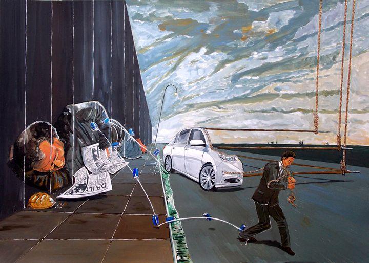 Mirages of Lives - Lazaro Hurtado Art