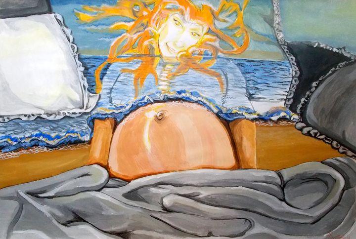Rising Sun - Lazaro Hurtado Art