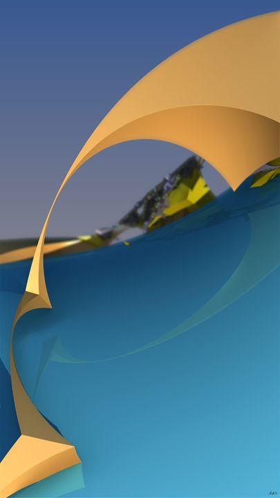 Shore Air - FuzzyEdges' Fractal Art
