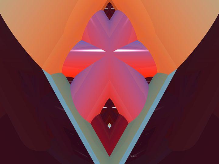 Ensconced - FuzzyEdges' Fractal Art