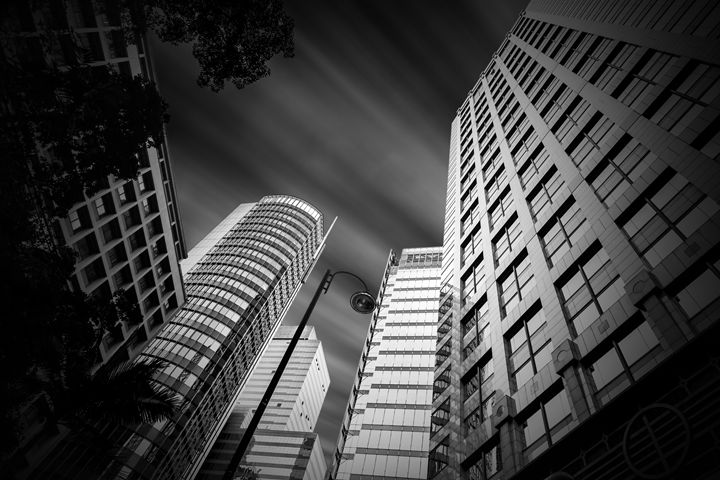 Hong Kong tall buildings - Freebilly Photography Portland