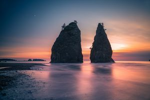 Olympic National Park - coast featur