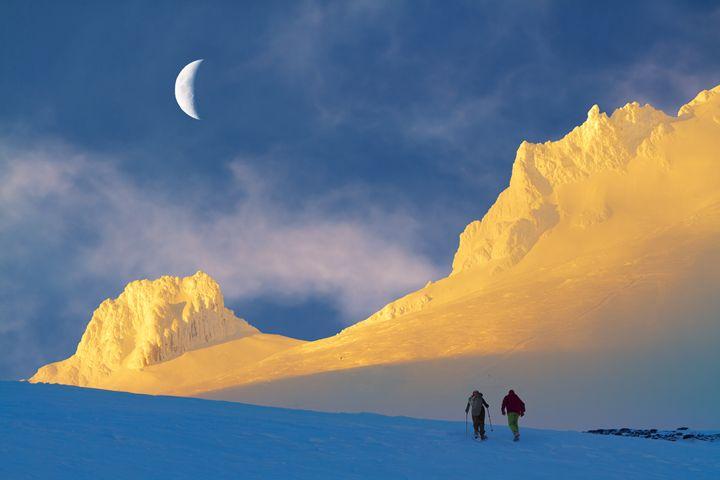 Toward Frozen Mountain - Freebilly Photography Portland