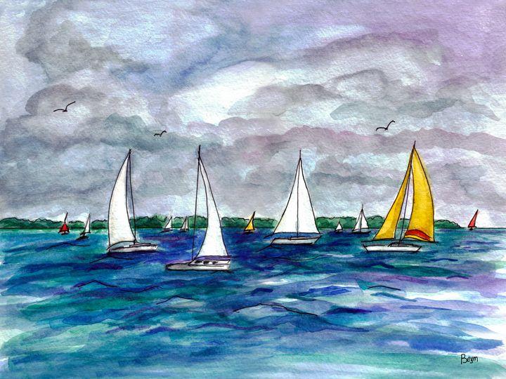 Hobie Cat Sails - BeymArt