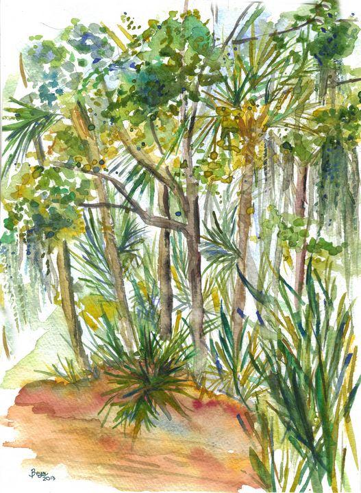 Tropical Trees - BeymArt