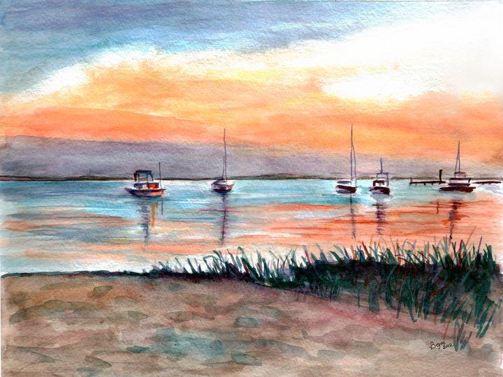 Sunrise Sail - BeymArt