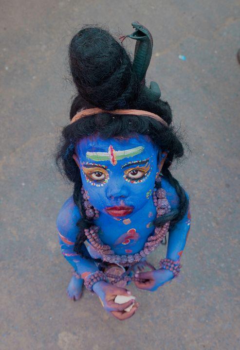 Baby Lord Shiva - Nathan Jones