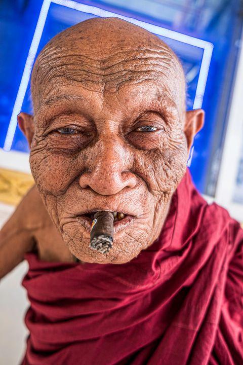 Smoking Monk - Nathan Jones