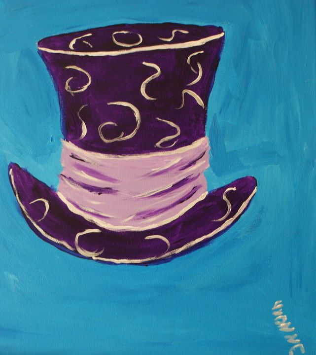 The Mad Hatter - Art By Yvonne Sewell