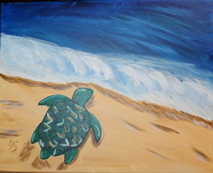 Headed to the Sea - Art By Yvonne Sewell
