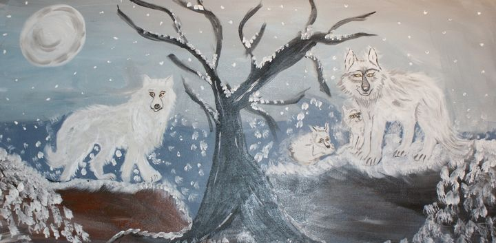 Winter is Coming - Art By Yvonne Sewell