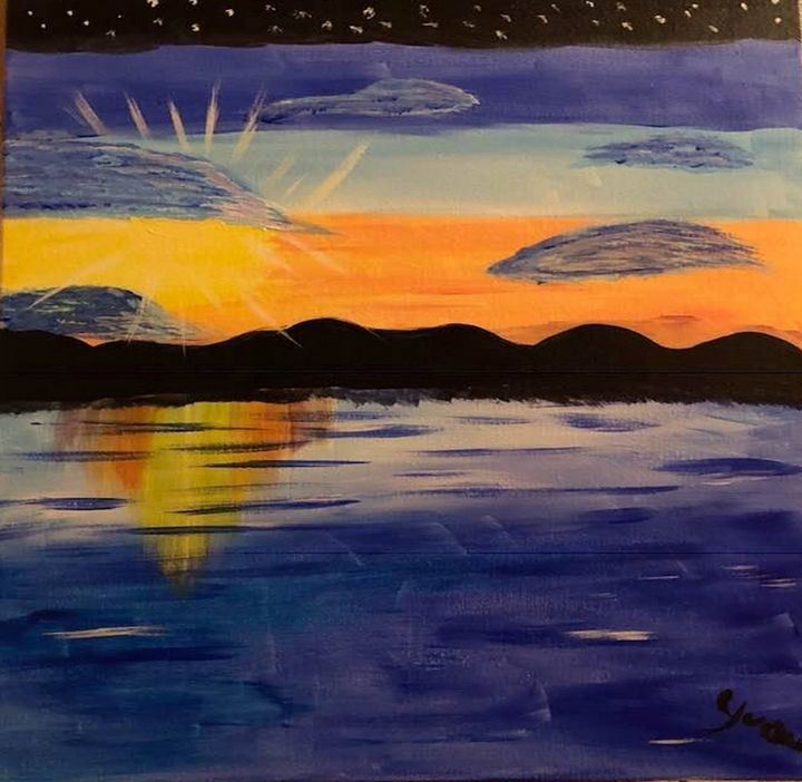 Late Afternoon - Art By Yvonne Sewell
