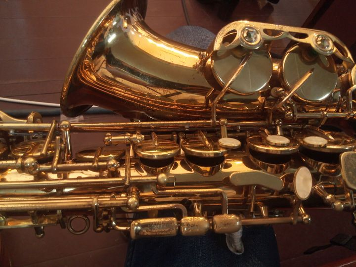Alto Saxophone - Acrylic Paintings