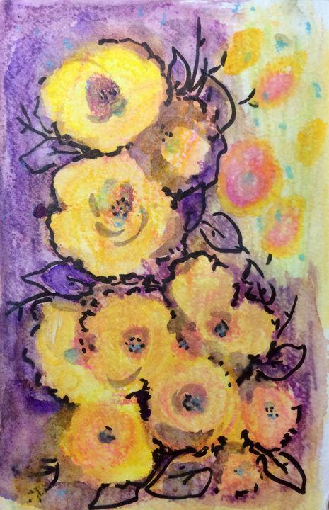 Golden Impressions - Art by Karen Dale