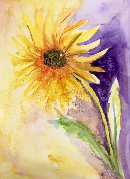 Sunflower's Glow - Art by Karen Dale