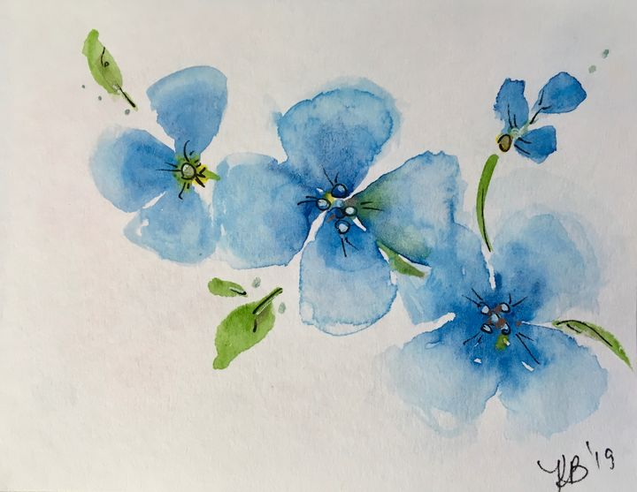 Blues - Art by Karen Dale