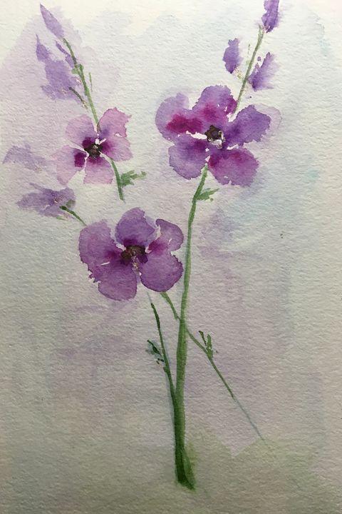 Violeta - Art by Karen Dale