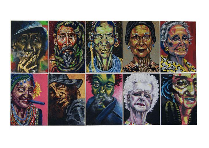 Portraits collection - Colors on Canvas