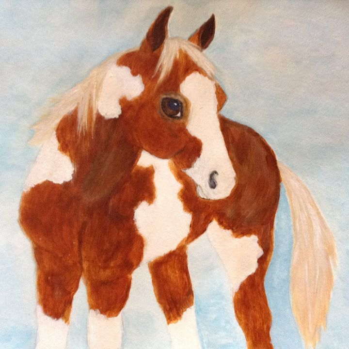 Painted Pony - Personalized pet art