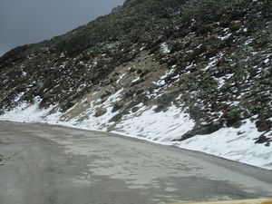 HILLS GUARDED BY SNOW