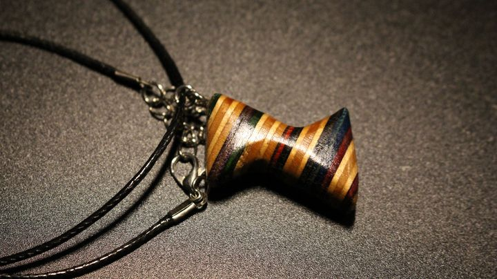 Abstract Necklace - Ingenuity Artworks