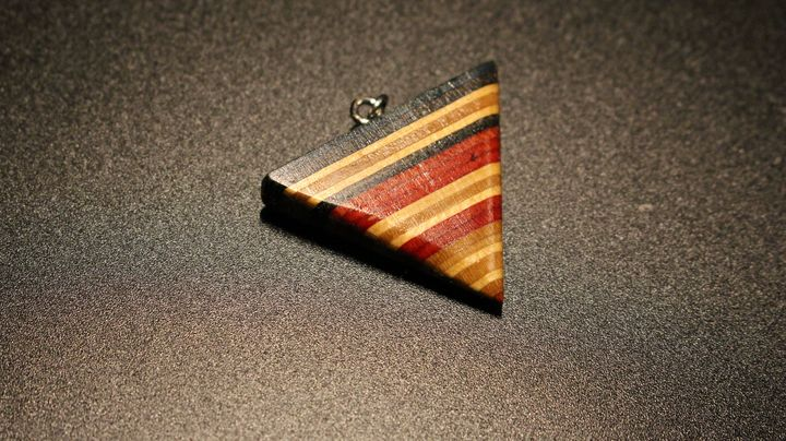 Inverted Pyramid Pendant - Ingenuity Artworks