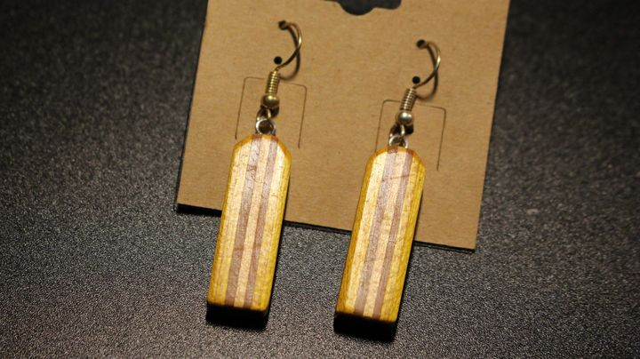 Vertical Dangle Earrings - Ingenuity Artworks