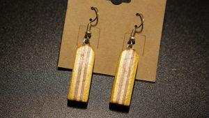 Vertical Dangle Earrings