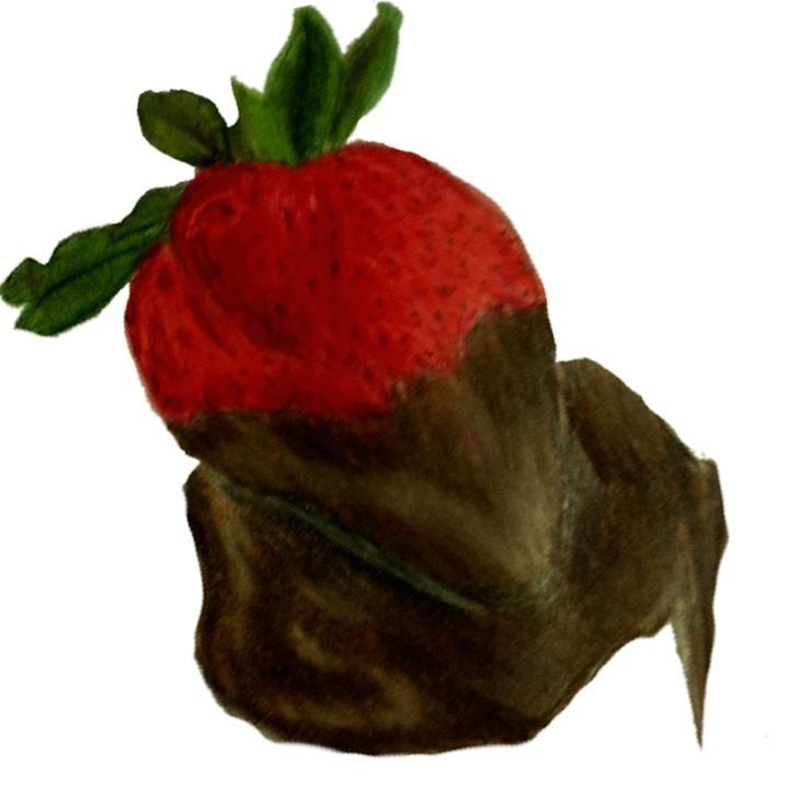 Chocolate covered strawberry - Emma's Art