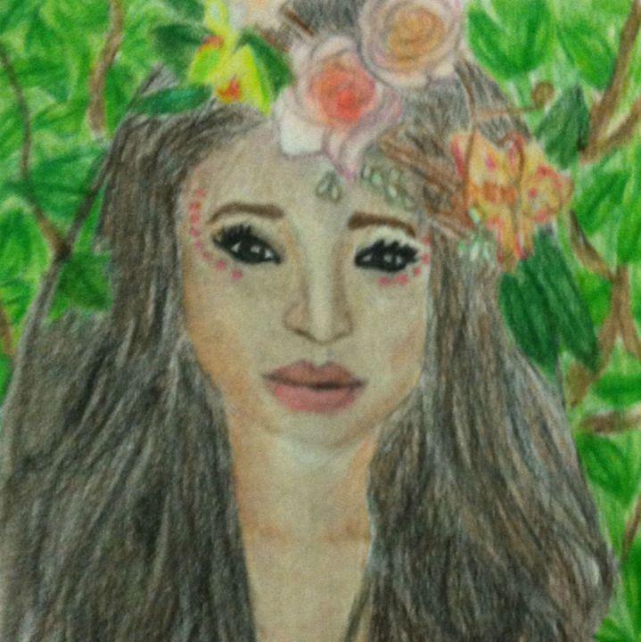 flower girl - Emma's Art