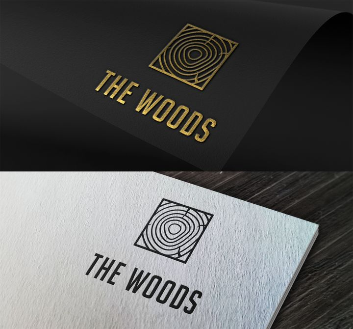The Woods Logo - iGallery