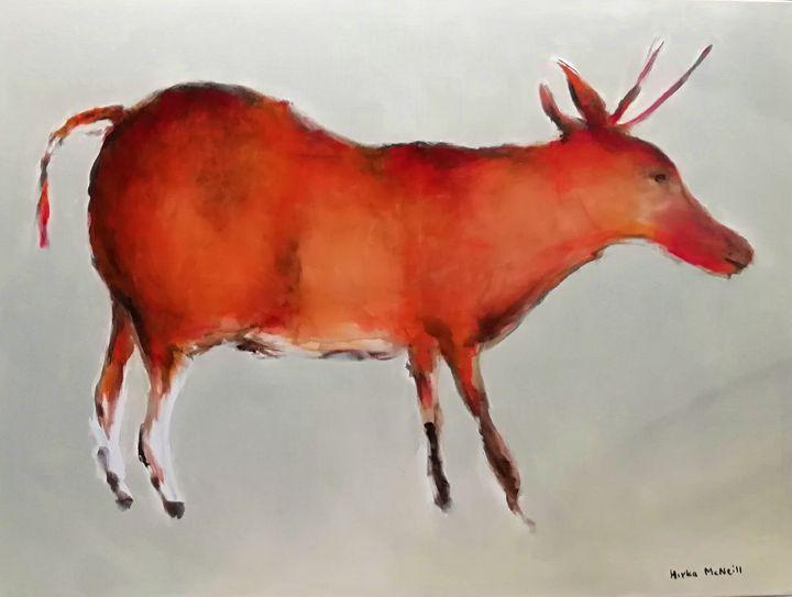 Deer - Cave art - Mirka McNeill