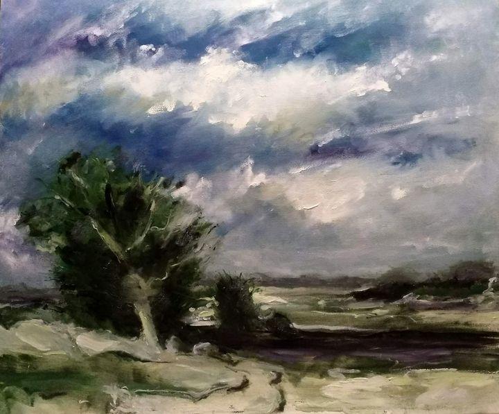 Storm approaching after Seago - Mirka McNeill