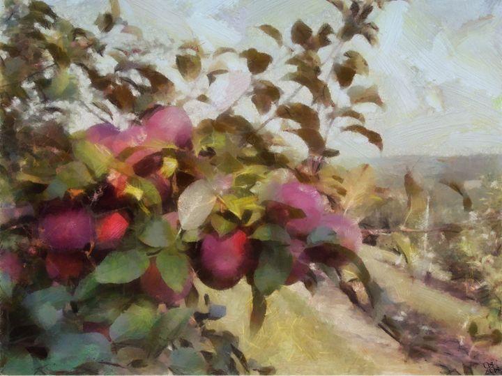 Apple Orchard Summer Haze - Impressionisms