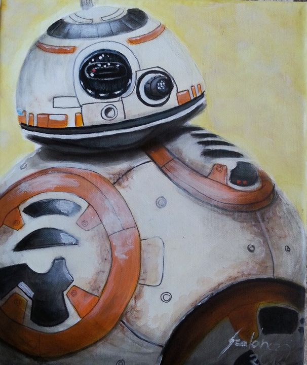 BB8 - Star Wars - Szalanczi