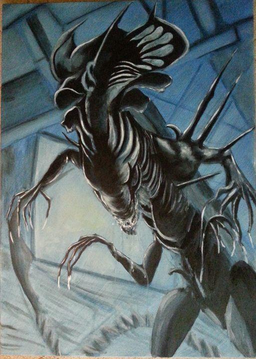 Alien queen - Szalanczi
