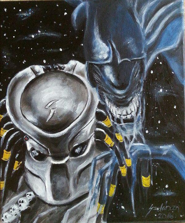Alien vs predator - Szalanczi