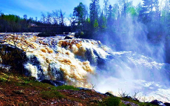 Kawishiwi Falls - Amber's Amazing Art