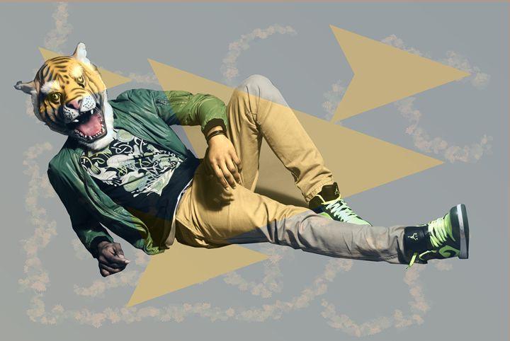 The hipster tiger - James B.N. Nash photography