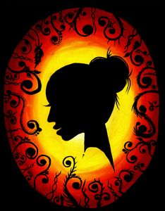 Silhouette Lady