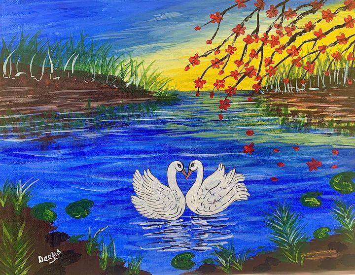 Swan Love - D.S. Creations